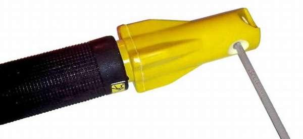 Винтовой держатель электродов