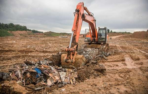 закапывания отходов в почву