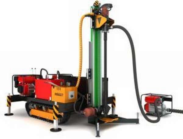 Мини-установка для бурения скважин на воду