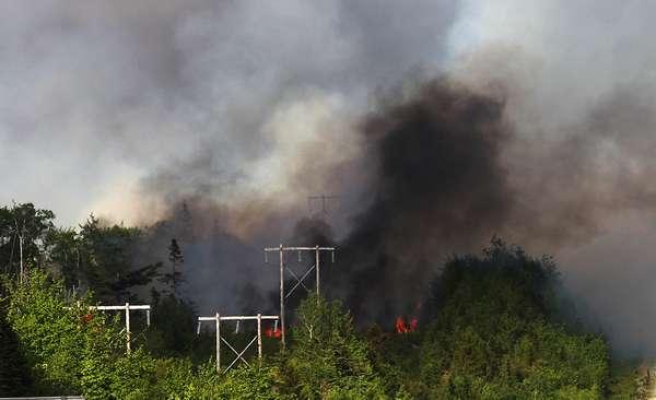 загрязнения от пожаров