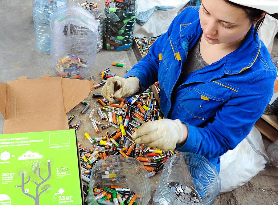 переработки аккумуляторов в России