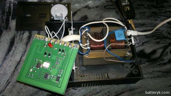 Разобранное зарядное устройство