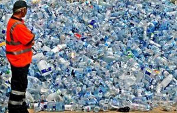 Свалка пластика