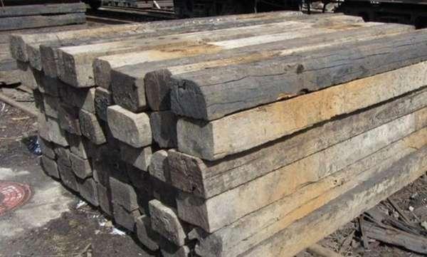 утилизация деревянных шпал