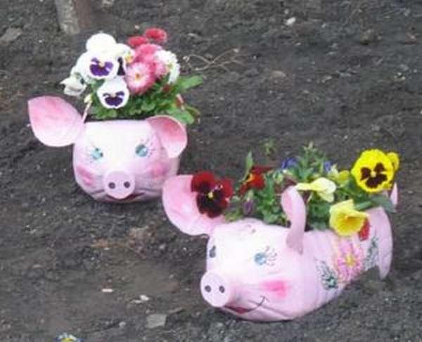 lxvqzpdo Как сделать свинью из пластиковой. Смешные поросята из пластиковых бутылок