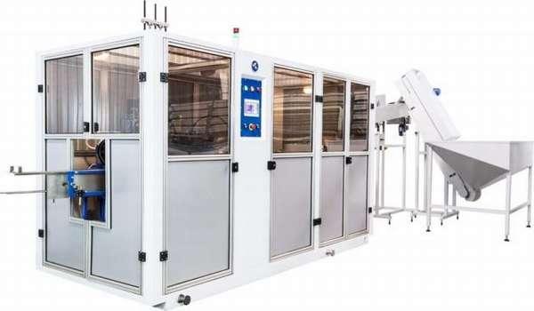 Автомат выдува ПЭТ тары А-1000-М3