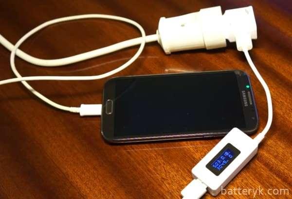 Измерение емкости аккумулятора смартфона мультиметром