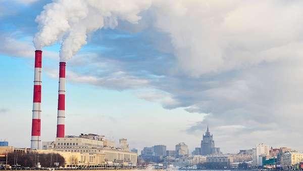загрязнение воздуха предприятиями