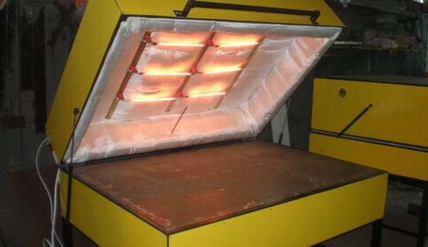 Оборудование для производства гибкого камня