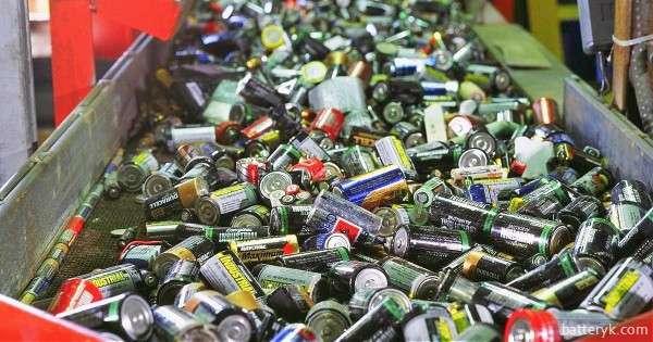 Батарейки для утилизации
