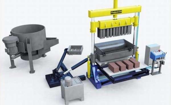 Мини-производство керамзитобетонных блоков