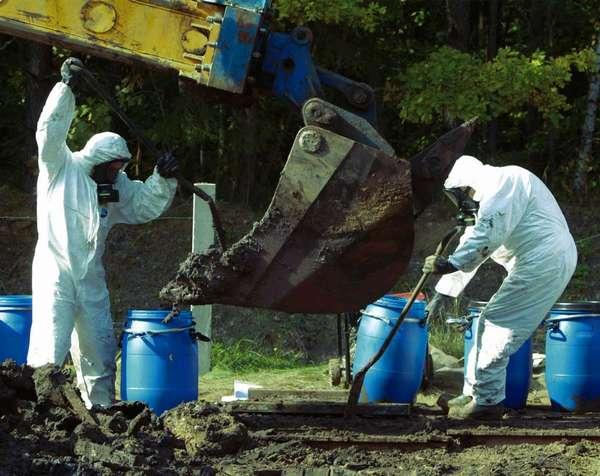 радиоактивных отходов на захоронение