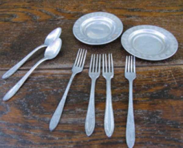 Посуда из чистого олова