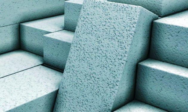 Легкие пористые формы блоков