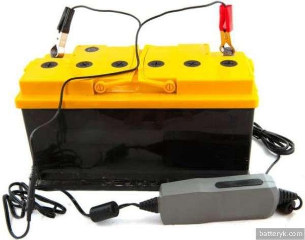 Зарядка нового аккумулятора