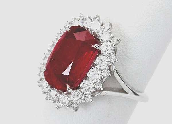 Красный алмаз — самый редкий в своем роде