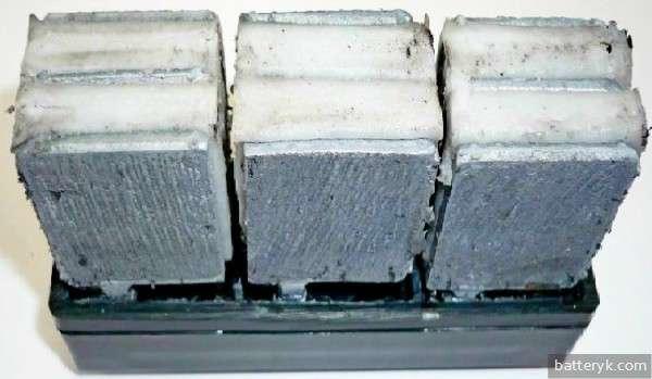 Сульфатация пластин аккумулятора