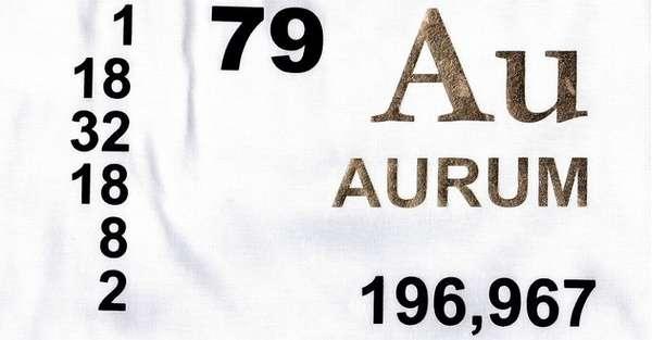 Химический элемент золото (Au): свойства, способы получения и место в периодической таблице Менделеева
