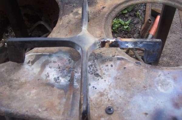 Пример результата горячей пайки