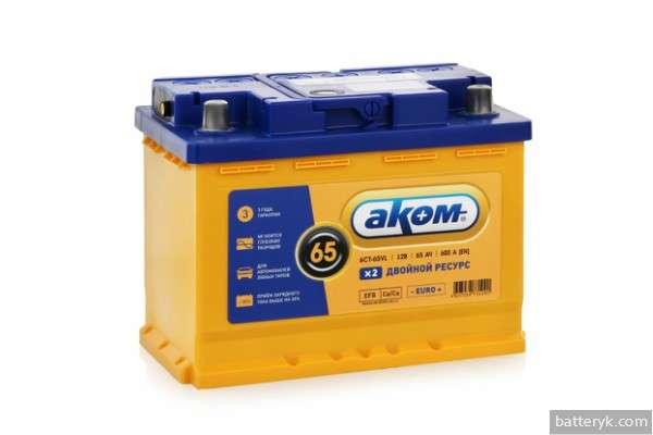 EFB батарея от Аком