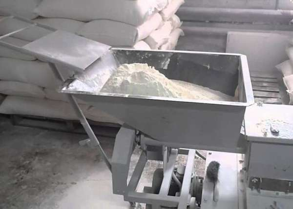 Фасовочный агрегат для муки