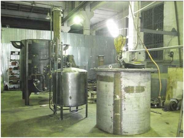 установка для пиролиза мед отходов