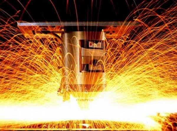 Резка металла высокотемпературной плазмой
