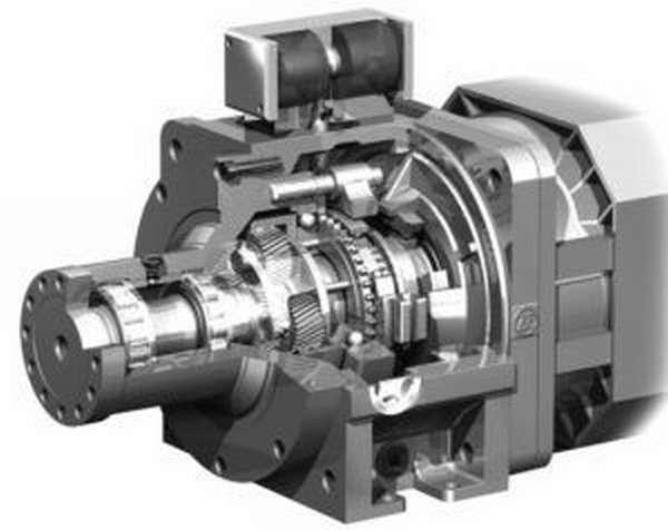 Коробка передач шпинделя обеспечивает высокий и низкий диапазон скоростей
