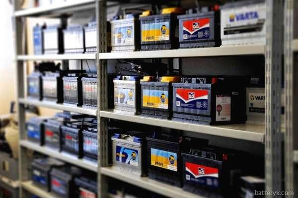 Хранение аккумуляторов на складе