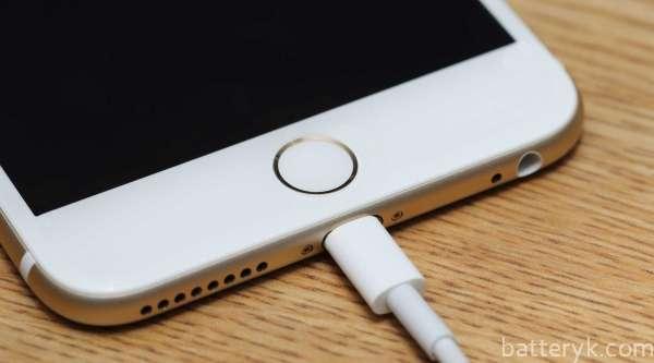 iPhone 6 не заряжается