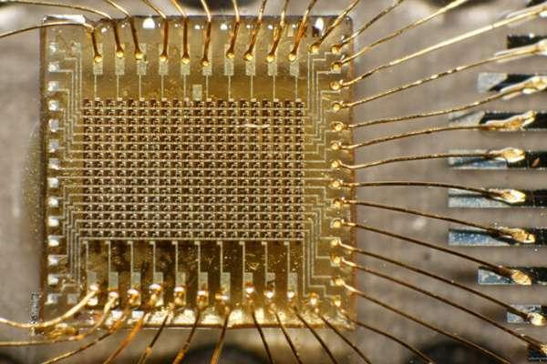 Золото в радиодеталях
