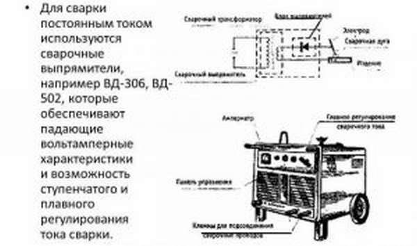 Характеристика выпрямителя ВД-306