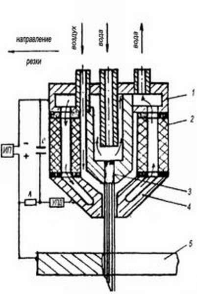 Схема подключения плазмотрона для воздушно-плазменной резки