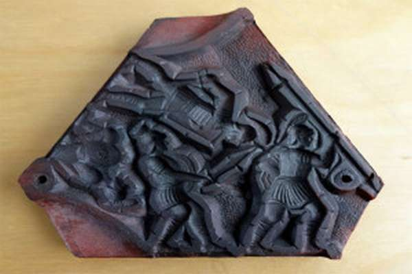 Форма для литья олова