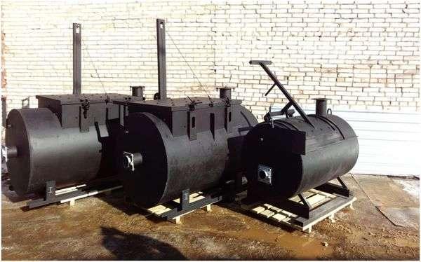 крематоры разных объемов