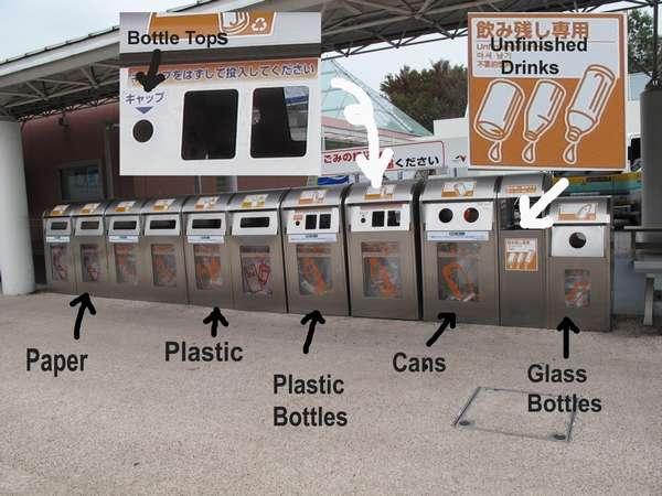 борьба с мусором в японии