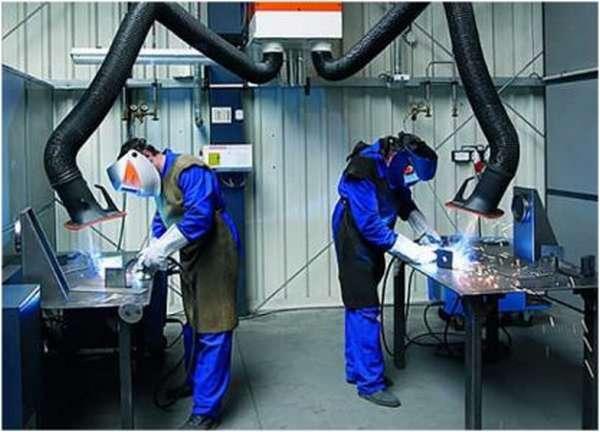 Защитные средства при обработке металла перед сваркой