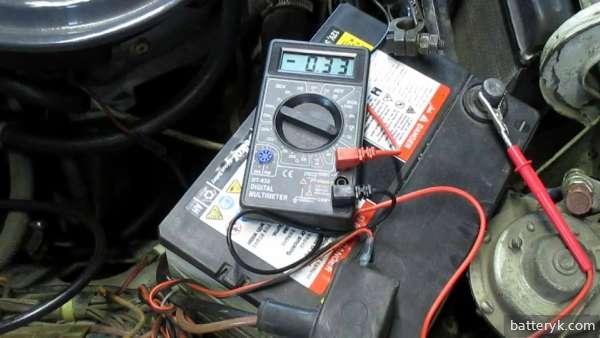 Измерение утечки тока