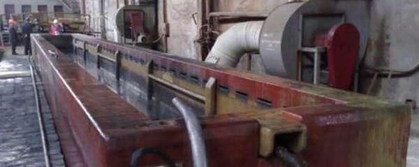 В промышленных объемах ванны принимают колоссальные размеры, а соответственно и повышается их стоимость и эксплуатационные траты
