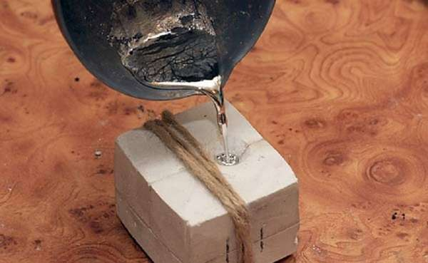 Плавим серебро в домашних условиях: температура плавления в зависимости от пробы + инструкция