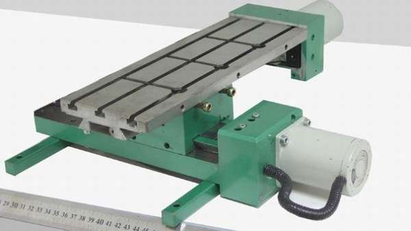 Координатный стол с механической фиксацией