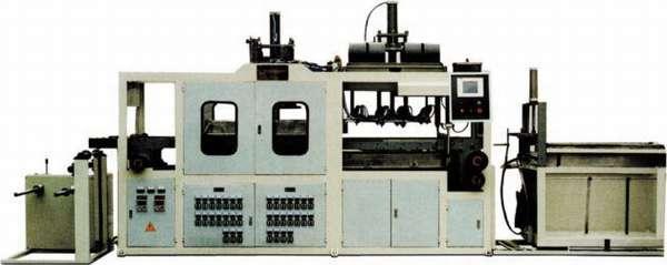 Пневмовакуумформовочный автомат для изготовления коробок для тортов, блистеров, пирожниц, подарков, посуды JDX