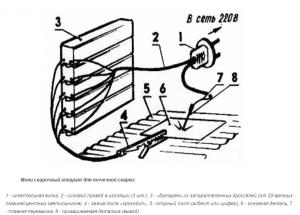 Мини сварочный аппарат для точечной сварки из трансформатора