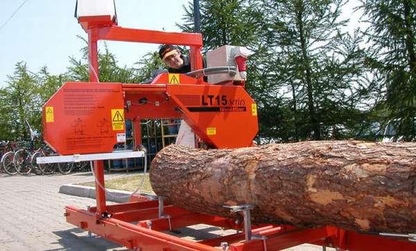 Распиливание древесины