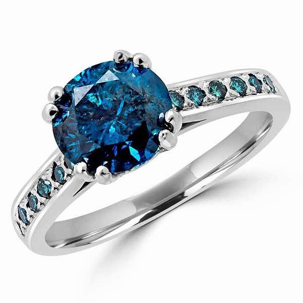 Синий алмаз — настоящая роскошь для богатых и бесстрашных