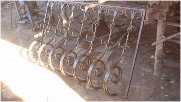 Конструкция, изготовленная с помощью холодной ковки